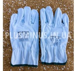 Перчатки спилковые Master (размер 11)