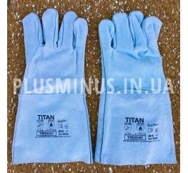 Перчатки спилковые Titan (размер 10)